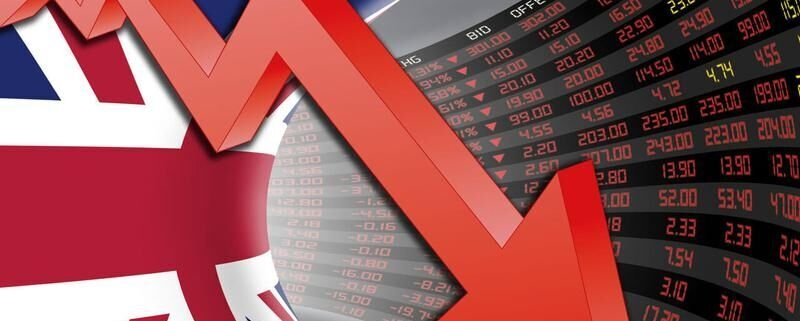 کرونا رشد اقتصادی انگلیس را به پایینترین حد در ۴۰ سال گذشته رساند 156889083 800x321